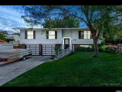 Bountiful Single Family Home For Sale: 2185 S Elaine Dr