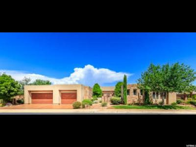 St. George Single Family Home For Sale: 2037 E Lepido Way