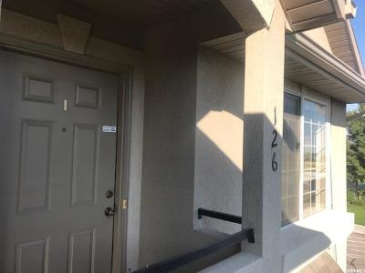 Tooele County Condo For Sale: 223 W Crescent View Ln #126