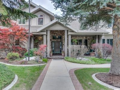 Sandy Single Family Home For Sale: 8918 S Cobble Canyon Cir E