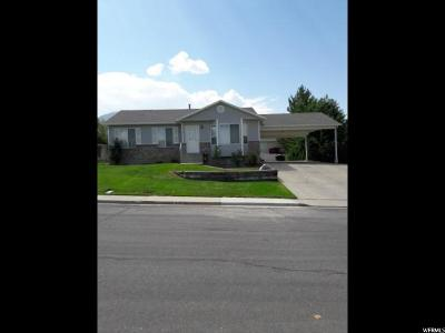 Payson Single Family Home For Sale: 829 W 1235 S