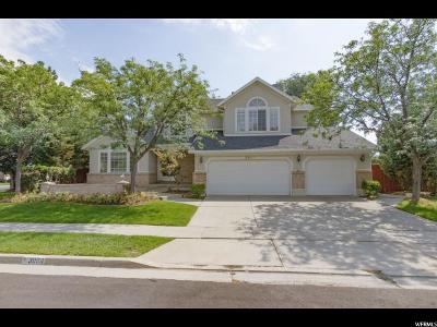 Salt Lake County Single Family Home For Sale: 3084 Ksel Dr