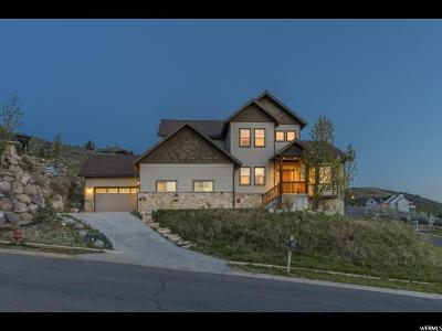 Wasatch County Single Family Home For Sale: 1890 N Callaway Dr