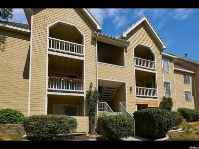 Cottonwood Heights Condo For Sale: 1221 E Waterside S