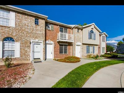 Provo Townhouse For Sale: 2816 W 1190 N