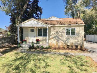 Murray Single Family Home For Sale: 28 W 6100 S