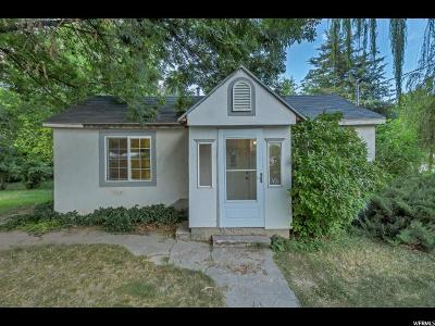 Provo UT Single Family Home For Sale: $225,000