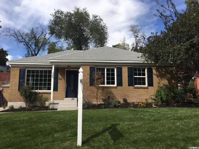 Salt Lake City Single Family Home For Sale: 1545 E Glen Arbor St S