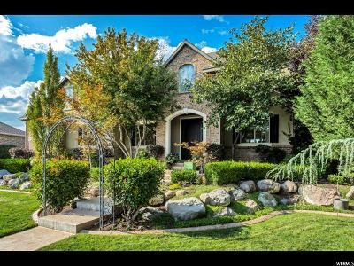 South Jordan Single Family Home For Sale: 3374 W Millville St S
