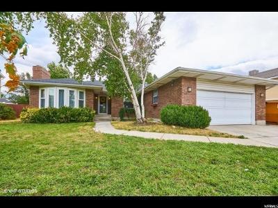 Sandy Single Family Home For Sale: 9121 S Tortellini Dr E
