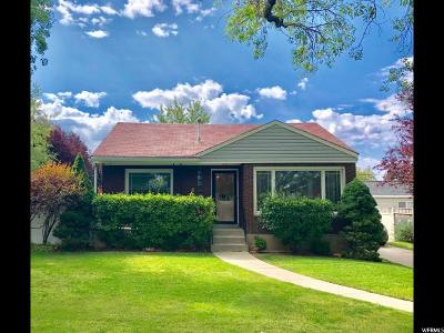 Salt Lake City Single Family Home For Sale: 1810 E Kensington S