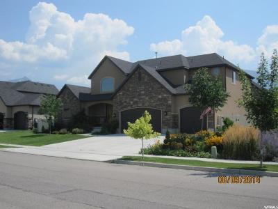 American Fork Single Family Home For Sale: 1444 N 60 E