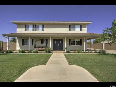 St. George Single Family Home For Sale: 1921 N 2100 W