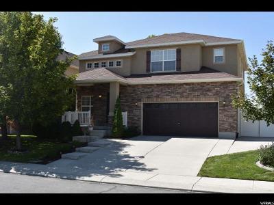 West Jordan Single Family Home For Sale: 4019 W Hollandia Ln S