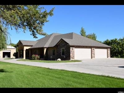 Nibley Single Family Home For Sale: 4017 S Hollow Rd E