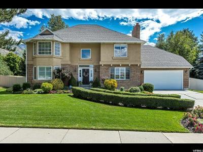 Cottonwood Heights Single Family Home For Sale: 8029 S Danish Oaks E