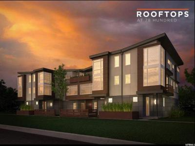 Midvale Townhouse For Sale: 7788 S Rooftop Dr