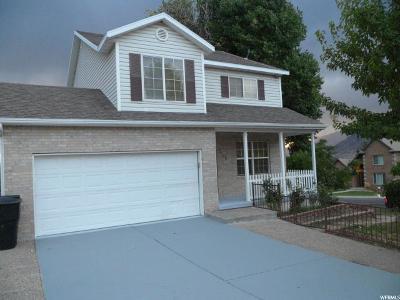 Springville Single Family Home For Sale: 2186 S Cimmaron Dr E