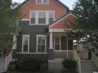 South Jordan Townhouse For Sale: 4309 W Degray Dr S