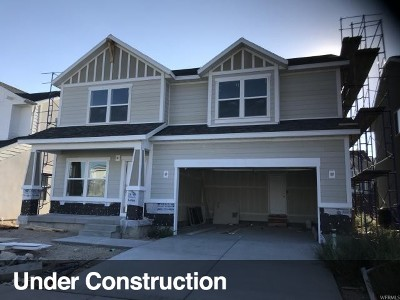 Bluffdale Single Family Home For Sale: 14917 S Hidden Falls Way W #111