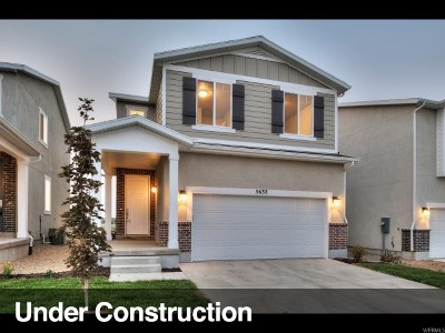 Herriman Single Family Home For Sale: 5616 W Lost Mine Ln S #214
