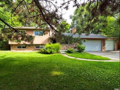 Holladay Single Family Home For Sale: 1643 E Lakewood Dr S