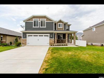 Mapleton Single Family Home For Sale: 1872 W 800 N