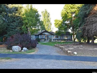 Mendon Single Family Home For Sale: 260 S 100 E