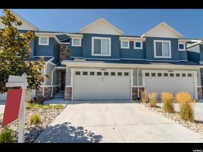 Bluffdale Townhouse For Sale: 15094 S Bright Stars Dr W #16