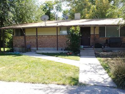 Single Family Home For Sale: 9580 S 1025 E