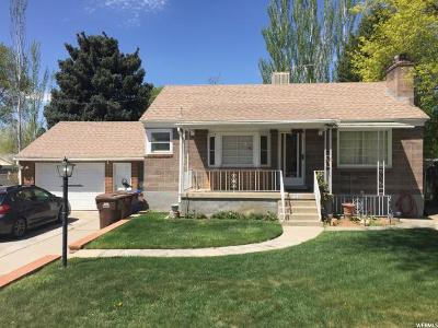 Midvale Single Family Home For Sale: 7260 S 1035 E