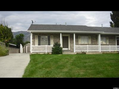 Single Family Home For Sale: 53 S 1060 E