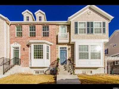 Provo Townhouse For Sale: 941 E 1140 S