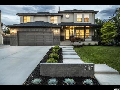 Murray Single Family Home For Sale: 947 W Greenoaks Dr S