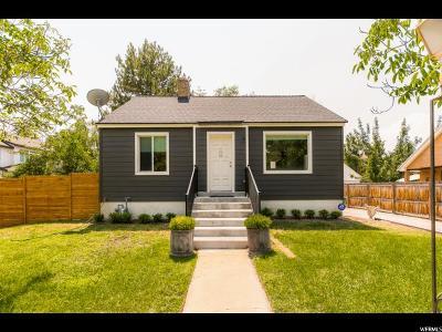 Murray Single Family Home For Sale: 598 E 5400 S