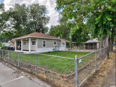 Salt Lake City Single Family Home For Sale: 1156 W 500 S