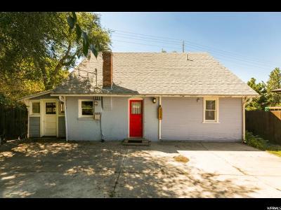 Cottonwood Heights Single Family Home For Sale: 7574 S Bridgewater Cir E
