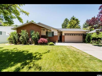 Logan Single Family Home For Sale: 1563 N 1640 E