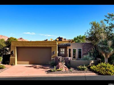 St. George Single Family Home For Sale: 2410 W Entrada Trl #37