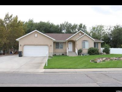 Mapleton Single Family Home For Sale: 1443 W 1400 N
