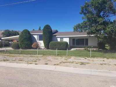 Ferron UT Single Family Home For Sale: $137,000