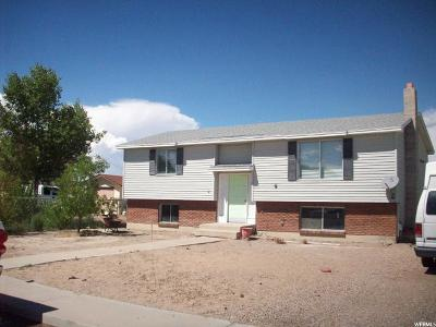 Green River UT Single Family Home For Sale: $95,000