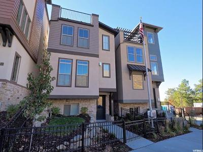 Cottonwood Heights Single Family Home For Sale: 7392 S Canyon Centre Pkwy #2