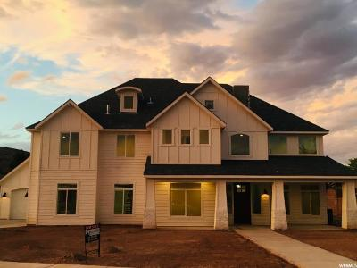 St. George Single Family Home For Sale: 1294 W Marigold Way