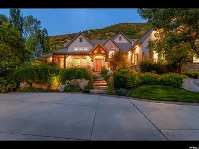 Layton Single Family Home For Sale: 3532 N Layton Ridge Dr E