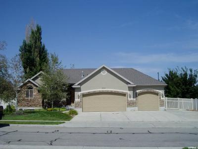 West Jordan Single Family Home For Sale: 4946 W Cherry Laurel Ln S