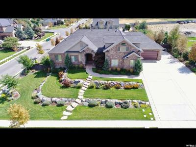 Bluffdale Single Family Home For Sale: 15257 S Scenic Crest Cir W