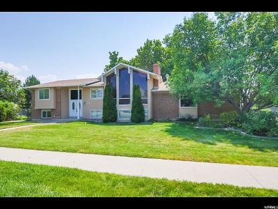 Murray Single Family Home For Sale: 868 E 4200 S