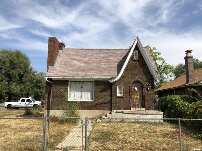 Salt Lake City Single Family Home For Sale: 878 W 500 N