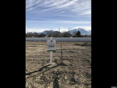 South Jordan Residential Lots & Land For Sale: 9497 S Hunter Bend Ct W